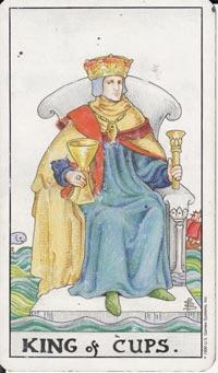 Re di Coppe Tarocchi